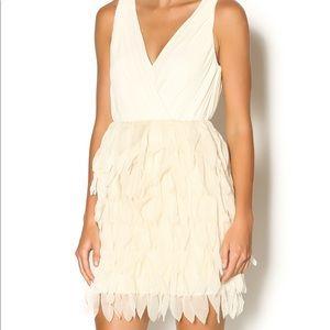 Ark & Co pleated feather dress